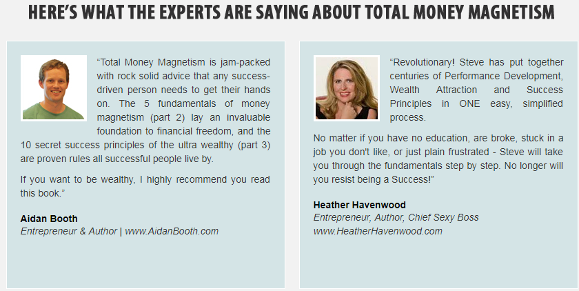 Total Money Magnetism guide