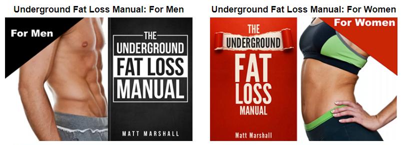 under fat loss